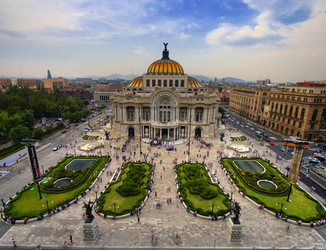 Сheap airtickets to Mexico-City from Europe